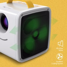Q2 MINI Projector 700 Lumens Parent-child Portable Projector Mini LED TV Home Beamer Children's gift with free Sticker