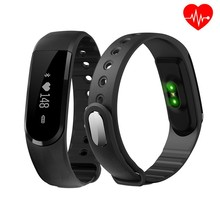New Arrival ID101 Smart Bracelet Sports Smartband Bluetooth 4.0 Heart Rate Monitor Sports Fitness Tracker Band for Android iOS