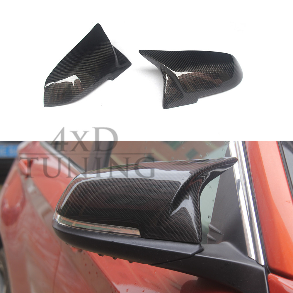 AN Style For BMW F30 F20 F22 F32 F33 F36 Carbon Fiber Mirror Cover 2012 2013 2014 2015 2016 2 3 4 Series Carbon Mirror f30 new m look carbon fiber replacement style side mirror covers for bmw 1 2 3 4 series f20 f21 f22 f23 f30 f31 f32 f33 f36