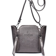 Top Brand Trendy Small Crossbody Front Side Zippers Ornament Women Retro Mini Casual Shoulder Bag Lady Fashion PU Small Bag