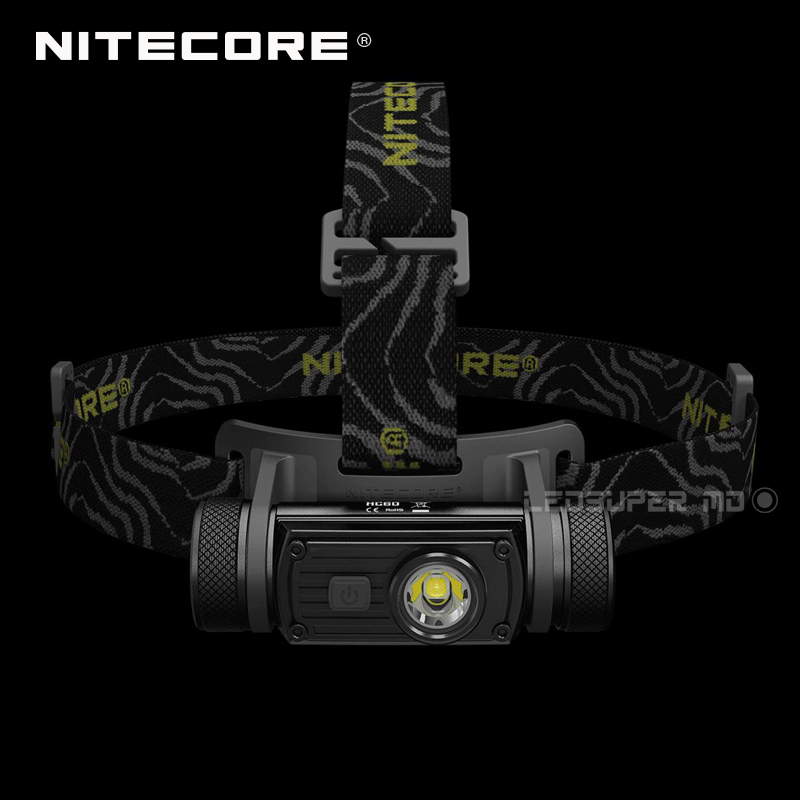 Best Selling Nitecore HC60 1000 Lumens CREE XM-L2 U2 LED USB Rechargeable Headlamp with 3400mAh 18650 Battery 1