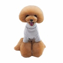 2017 New New Cotton Pet Sports Sweater Solid Color Dog Hoodie Teddy Pet Clothes Autumn And Winter Pet Clothing Teddy Bears D1