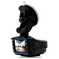 Russian Version 3in1 HD Tachograph Traffic Warning Device 920x720P GPS Tracker Radar Detector Car DVR Camera