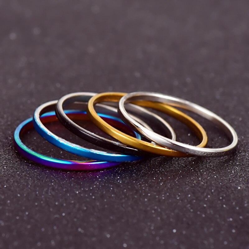 5 шт./компл. кольцо Наборы для ухода за кожей Mix Знаменитости Модные Простые ретро 316L Нержавеющаясталь палец кольцо Для женщин jewelry nj207