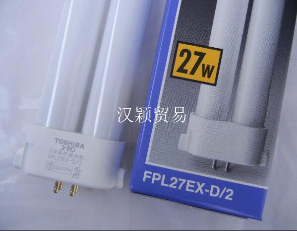 TOSHIBA FPL27EX-D/2 27W GY10q-4 PIN cfl dated compact fluorescent lamp цена