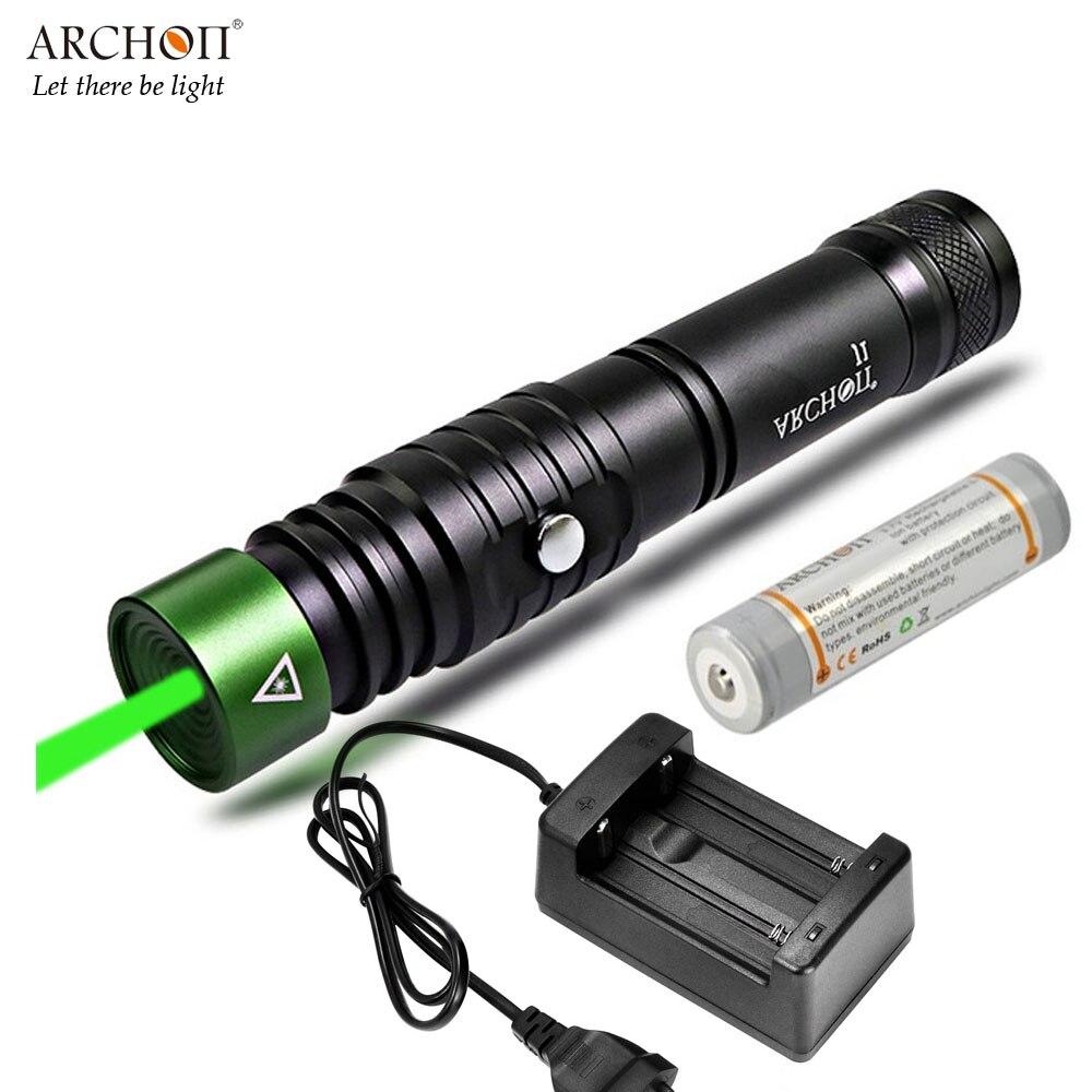 ARCHON J1 diving green laser light underwater 100 meter waterproof 1W 4 2 3 volts Diving