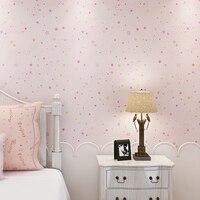Stars Galaxy Wallpaper Dream Children Bedroom Wall Blue Pink Green Papel De Parede Infantil Wall Paper