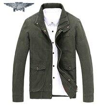 2016 Brand Clothing Men Army Military Jackets Men Winter Outerwear Sportswear Erkek Mont Kaban #jpzc8535