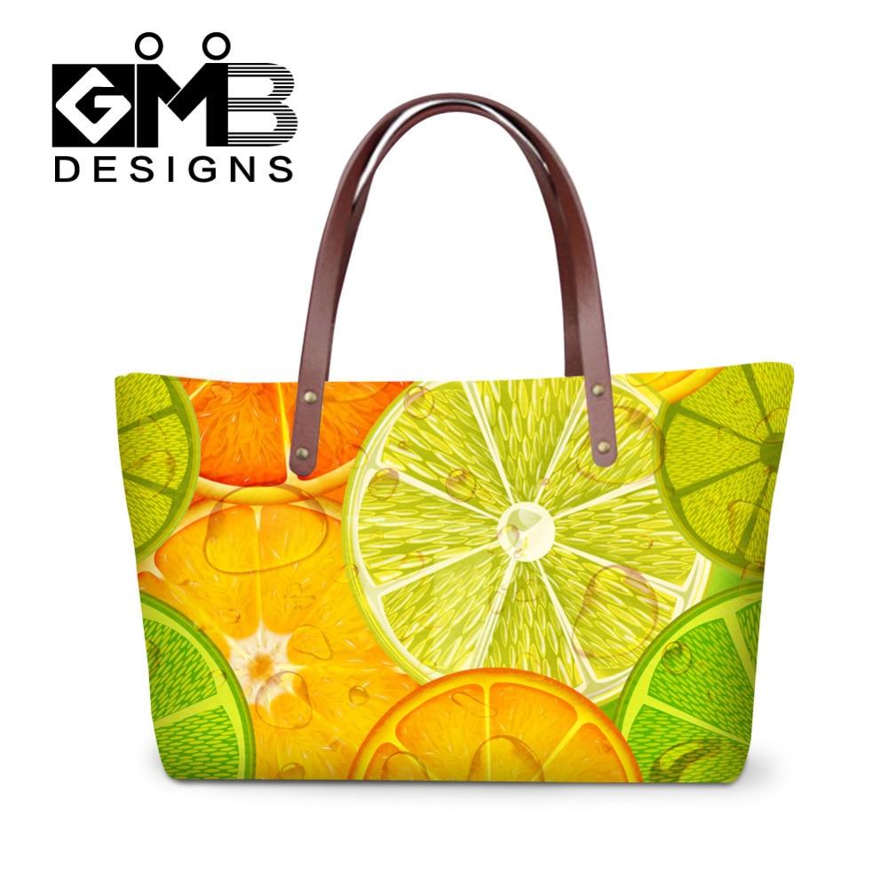 2016 새로운 여성 메신저 가방 과일 레몬 멋진 여성 핸드백 빈티지 디자이너 숙 녀 어깨 가방 술 Bolsas Feminina