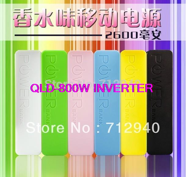 2600mAh Perfume Power Bank USB External Backup Battery IPhone 4S 5 5S Charger Powerbank Mobile Samsung S3 Note2 - Shenzhen Qixin Technology Co.,Ltd store