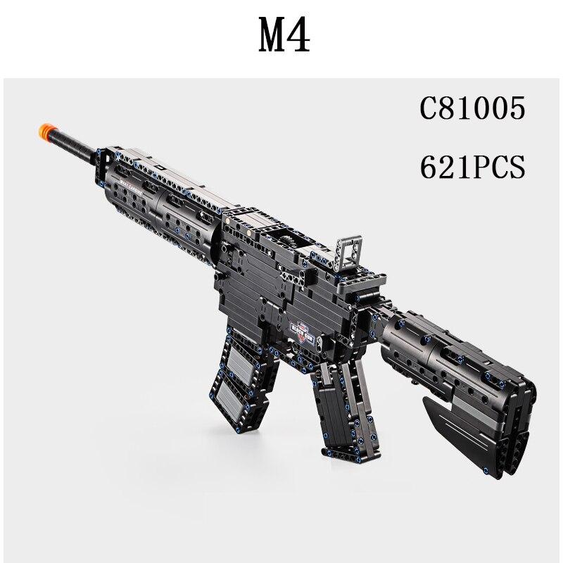 장난감 총 lepins 무기 총 윈체스터 모델 총 m4 a1 scattergun swat 총기 모델 키트 벽돌 장난감 아이 선물-에서블록부터 완구 & 취미 의  그룹 1