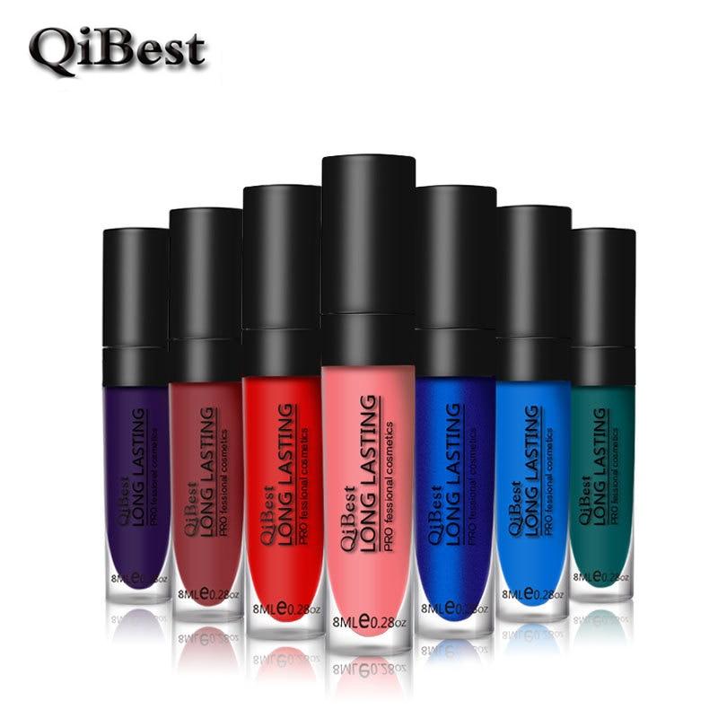12Color Langvarig Lip Gloss Mat Lipgloss Vanntett Naken Lip Cream - Sminke