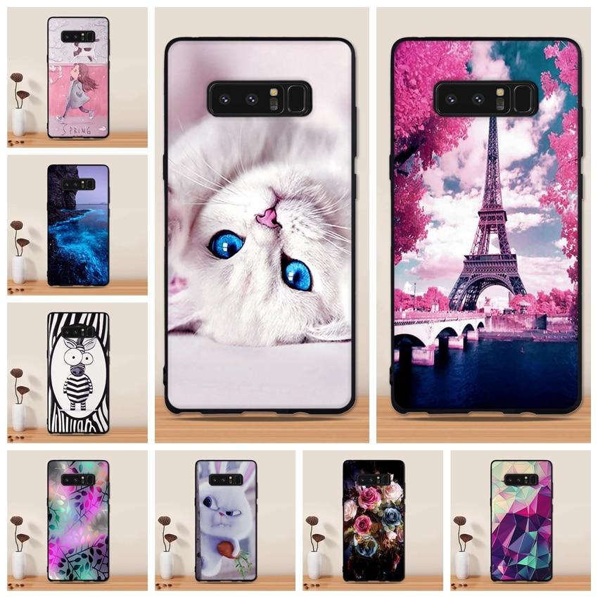 Soft TPU Case for Samsung Galaxy Note 8 Case Silicone Phone Cases for Samsung Galaxy Note 8 Cover for Samsung Note8 N950F Coque