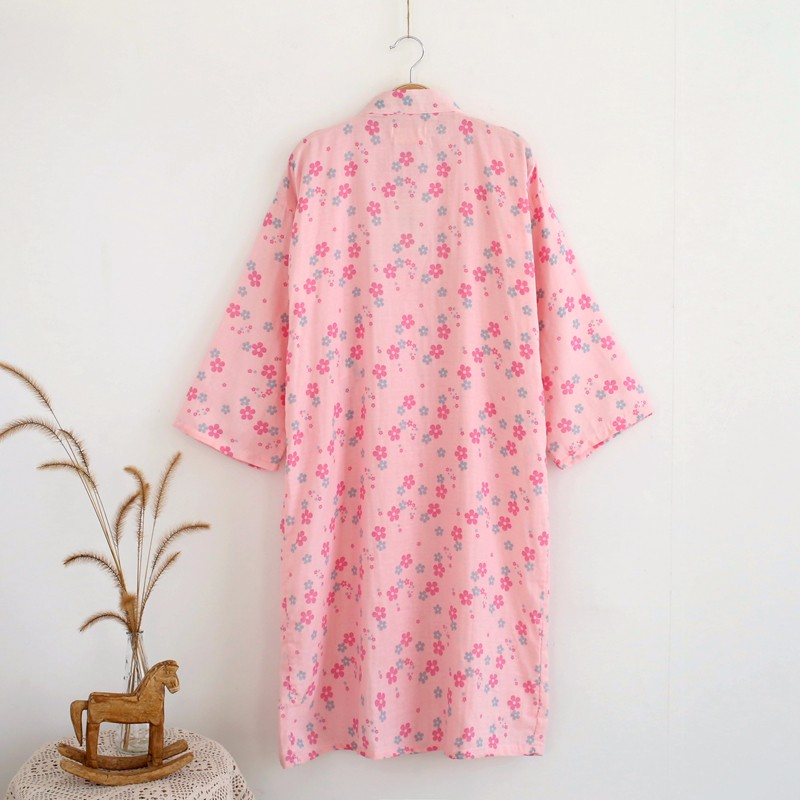 cotton bath robe summer