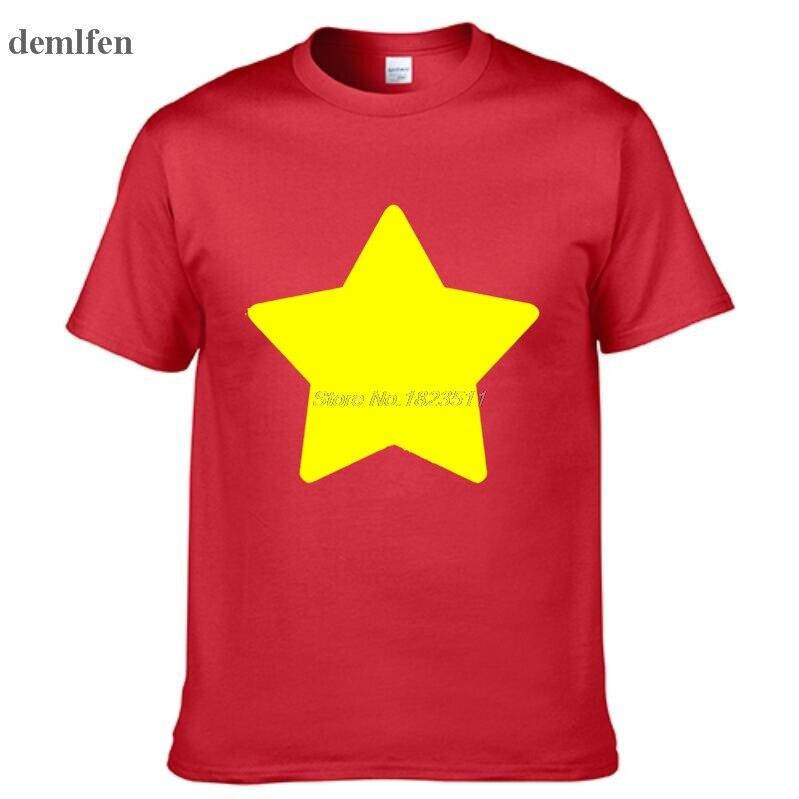 Steven Universe - Lion - Mens Printing T Shirt Personalized Tees Tops Man Short Sleeve  T Shirt