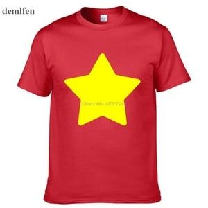 Steven Universe - Lion - Mens Printing T Shirt Personalized Tees Tops Man Short Sleeve T Shirt(China)