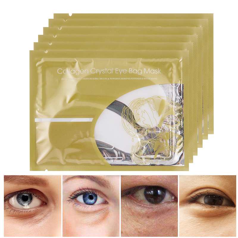15pcsCollagen Crystal Eye Mask reduce la máscara ocular de colágeno - Cuidado de la piel - foto 5