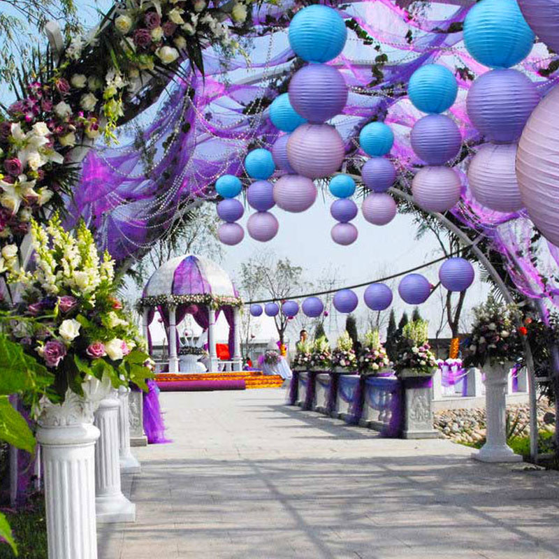 4 20inch decorative paper lampion ball festival chinese paper 2 junglespirit Image collections