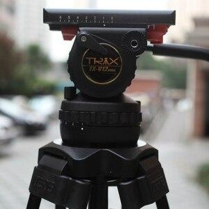 Image 4 - TERIS TRIX TS120 Professionele Statief Fluid Head 100mm kom Belasting 12KG voor Video camcorder statief Film RED Scarlet epic