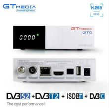 HDMI Satellite Tv Receiver Tuner Dvb T2 dvb-s2 4k 1080P Built-in wifi Dvb-t2 dvb-c Dvbt2 Tuner android 6.0 TV Box Russian GTC