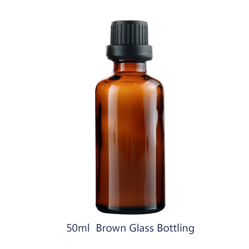 Wholesale 20Pieces/<font><b>Lot</b></font> <font><b>50ML</b></font> Portable Brown Glass <font><b>Perfume</b></font> <font><b>Bottle</b></font> With Atomizer Empty Cosmetic Containers For Travel image