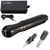 14x2 5cm Black Vertical Motor Shader Exquisite Aluminum Rotary Eyebrow Tattoo Machine Kit For Beginner Mayitr