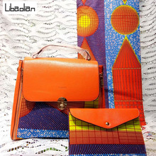 697f94b116f7 100% cotton 6yards super wax hollandais 2018 african print fabric with handbags  african ankara wax