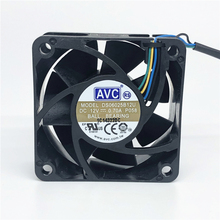 5PCS AVC DS06025B12U 12V 0.7A 6025 60MM 60*60*25MM CPU fan computer case Cooling  with 4pin PWM