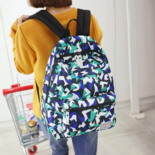 New shoulder bag female Korean student bag trend bag college travel male waterproof backpack