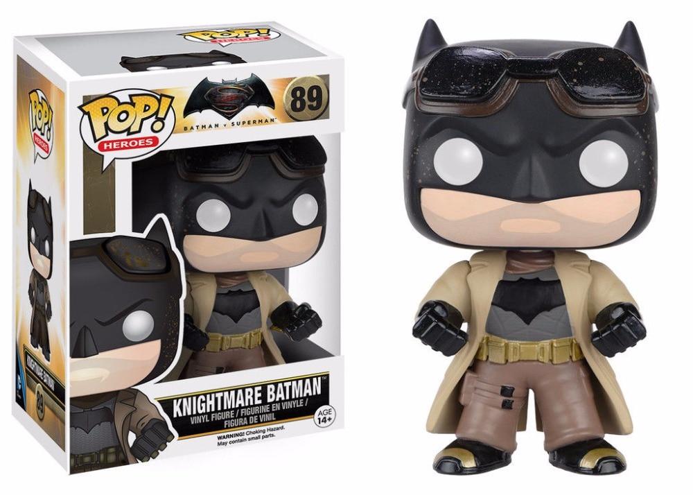 Funko <font><b>POP</b></font> <font><b>Vinyl</b></font> <font><b>Figure</b></font> DC Universe movie <font><b>Batman</b></font> VS <font><b>Superman</b></font> - Knightmare <font><b>Batman</b></font> 89 #6025 Super Heroes IN STOCK