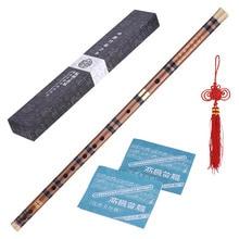 STARWAY hecho a mano de madera de bambú flauta instrumento profesional Dizi tradicional chino Musicflute instrumento clave de C D G E F