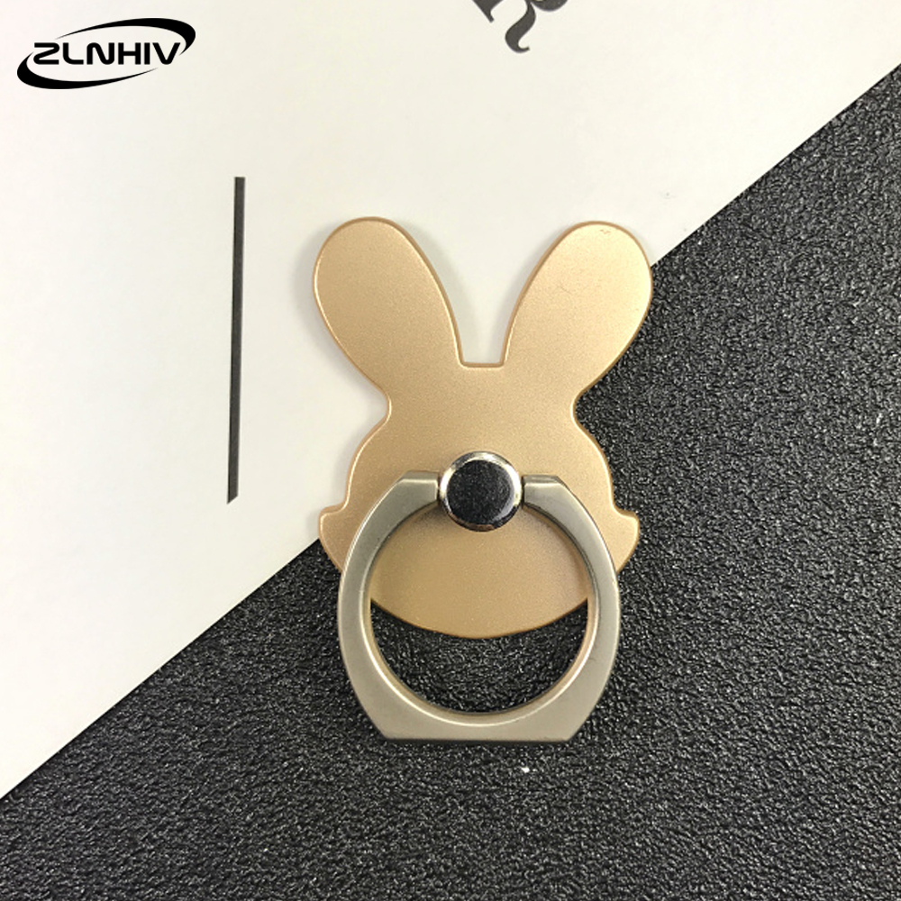 ZLNHIV finger ring mobile phone holder stand mount round support desk cell smartphone grip support for cellphone accessories