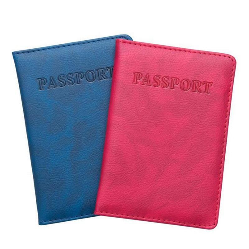 Travel Accessories Function PU Leather Passport Card Holder Women PassPort Cover Storage Organizer ID Wallet Case Busines Credit