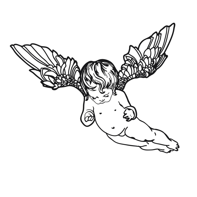 Cherub Angel Wall Sticker