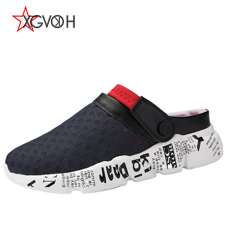 Miehet kesällä sandaalit hengittävä mesh sandaali miellyttävä - Miesten kengät