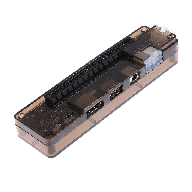 PCIe PCI-E V8.4D EXP GDC portátil externo tarjeta de vídeo muelle/ordenador portátil estación de acoplamiento (Mini PCI-E interfaz) nuevo llegado - 4