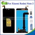 Original para xiaomi redmi note 2 display lcd + touch screen digitador assembléia substituição + ferramentas + adhensive