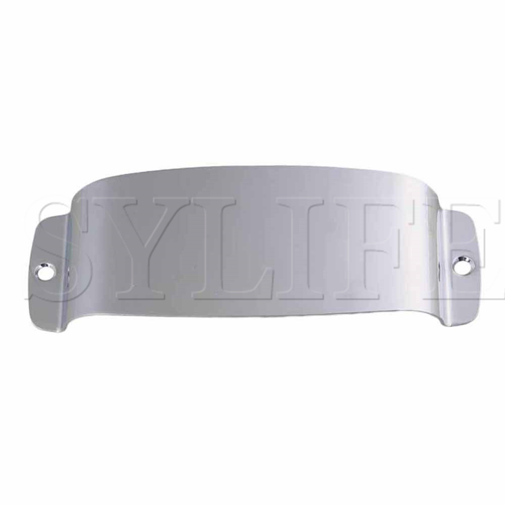 Generic Chrome Bass Guitar Pickup Cover For Jazz Bass