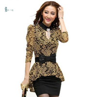 Lace Embroidery Diamonds Bow Women Bodycon Dress Spring Splicing Office Ladies Dresses Casual Plus Size Vestidos