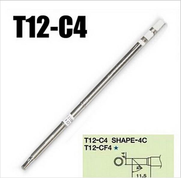 Replace Soldering Solder Iron Tip For Hakko T12-C1 Shape-C1 PCB Repair New
