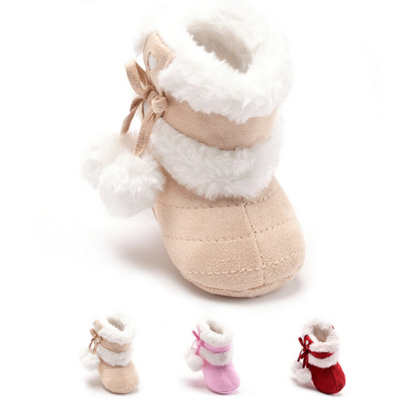 The New 2016 Cotton Baby Spring and autumn Warm Shoes Casual comfort and high quality Pure Color Baby Toddler shoes Shoes