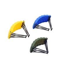 Single Sale Plastic Parachute  Weapon Military Figures Parts Accessories Camo Suit Compatible Lgoing Building Blocks Toys JM91