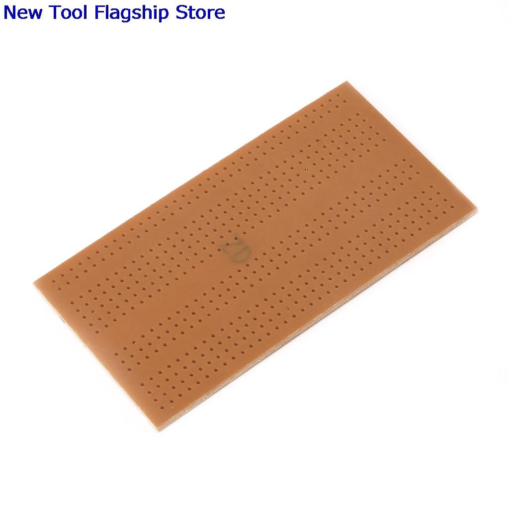 10 xDIY Prototype Paper PCB Universal Experiment Matrix Circuit Board  5x9.5cm