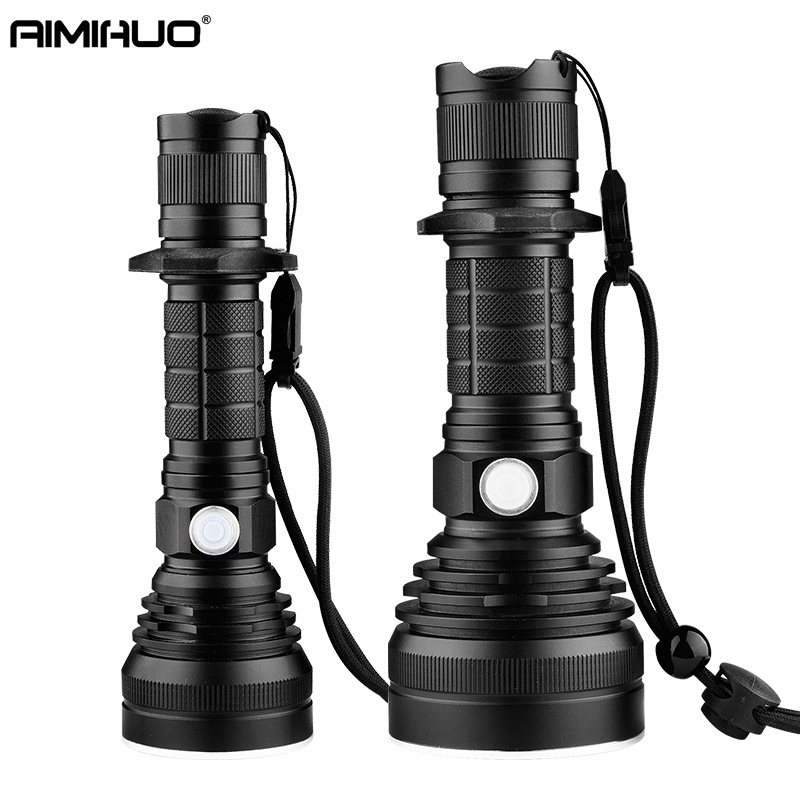 AIMIHUO Cree LED Flashlight 8000LM L2 Lamp USB Charging Flashlight Powerful Camping Torch Lanterna LED Lantern For 18650 Battery russia led flashlight with power bank mode 18650 tactical flashlight powerful led torch usb charging lanterna ipx7 waterproof