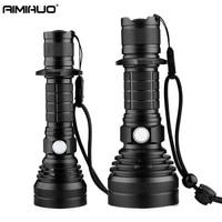AIMIHUO Cree LED Flashlight 8000LM L2 Lamp USB Charging Flashlight Powerful Camping Torch Lanterna LED Lantern For 18650 Battery