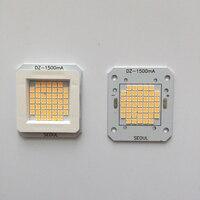 1pcs LED 30V 36V High Power Led Light Beads Korea Imported Chip Integrated Light Bead 50W