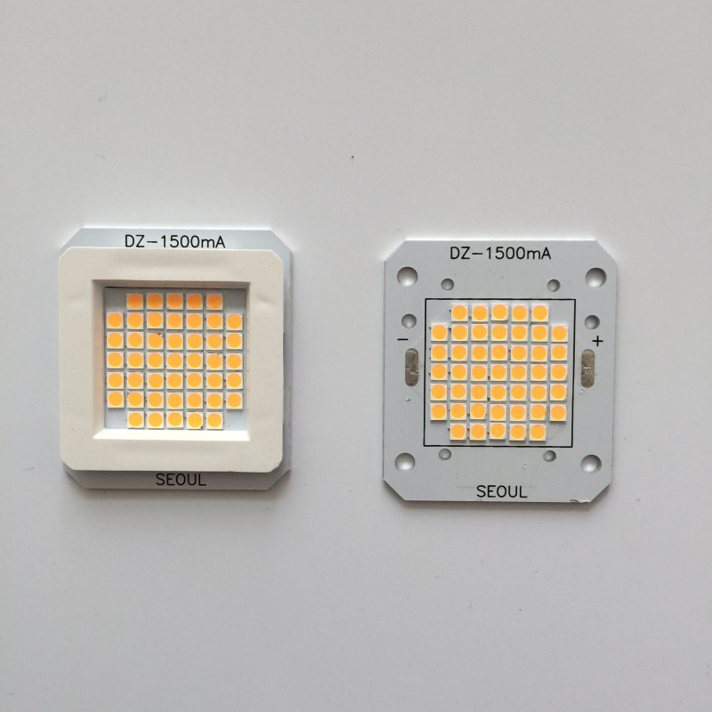 1pcs LED 30V-36V high power led light beads Korea imported chip integrated light bead 50W of cob integrated light led high chip