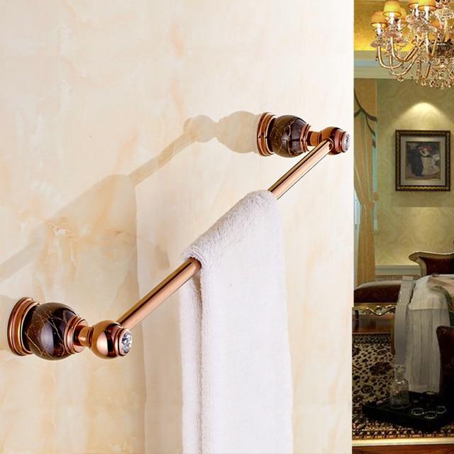 Online Shop Luxury Bathroom Accessories Rose GoLD Marble Single ...
