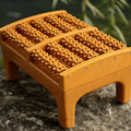 New Top quality Wooden Roller Foot Massager Health Therapy Relax Stress Relief Massage