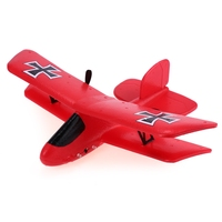 Flybear FX 808 RC Drone 2 4G 2CH EPP Micro Indoor Parkflyers RC Biplane RTF Funny